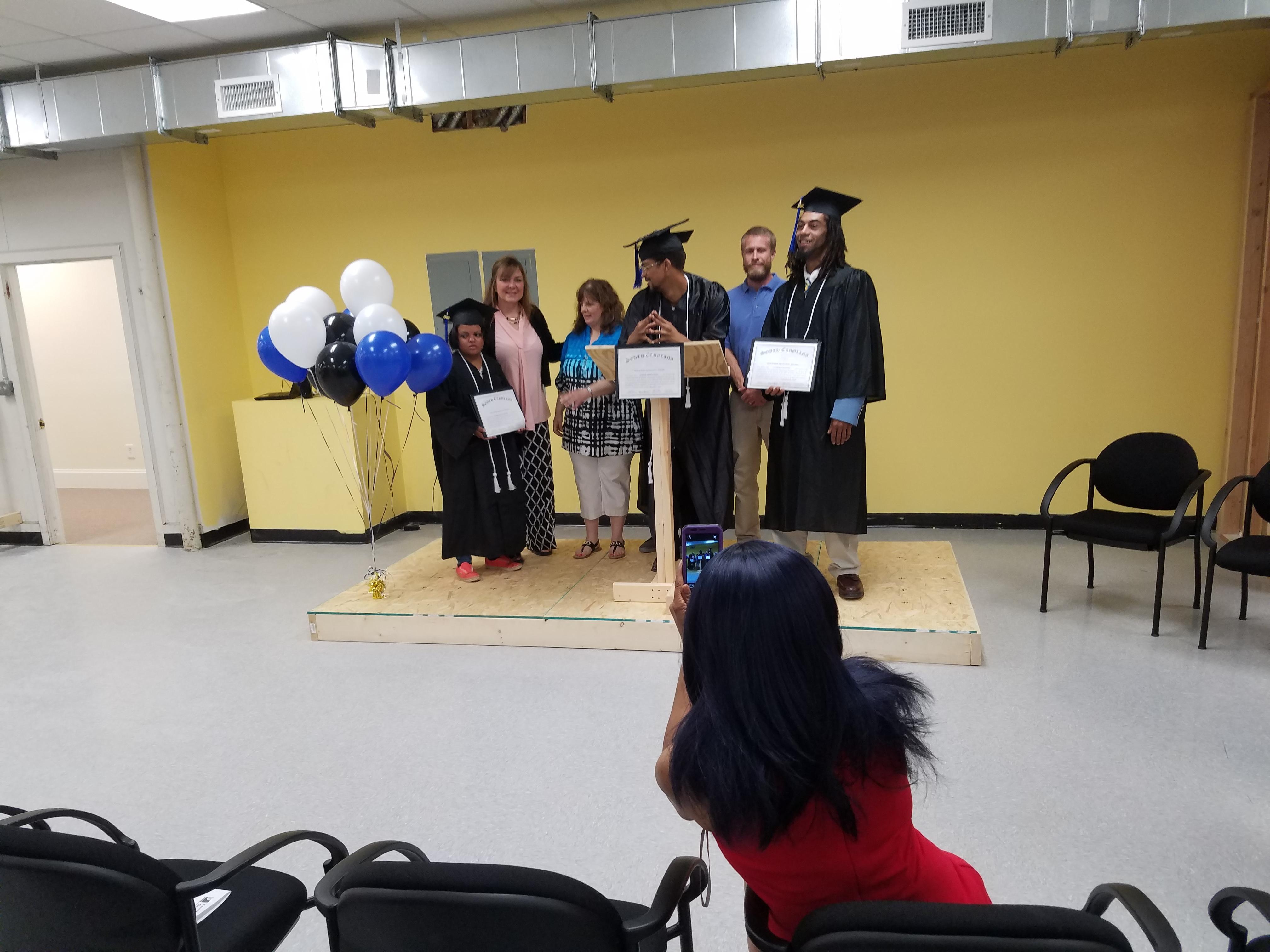 youthbuild graduates greenville revitalization corporation